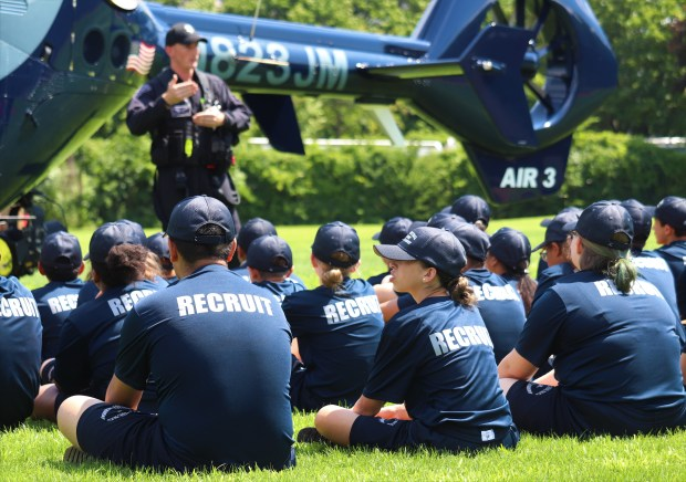 Jr  Police Academy winds down with helicopters and hotdogs