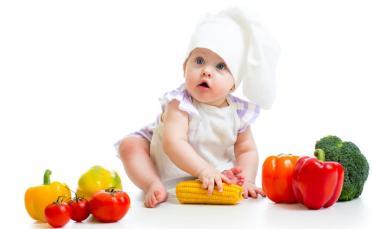 Baby Loves Vegetables
