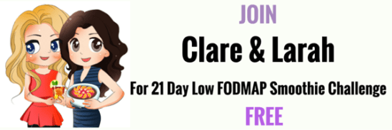 Free Low FODMAP Smoothie Challenge Banner