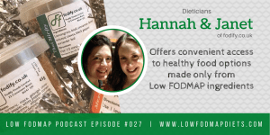 #027 RD Janet and Hannah Explain How To Make The Most Of Your Time With The Dietitian