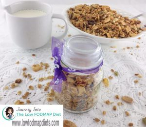 Low FODMAP Granola Muesli