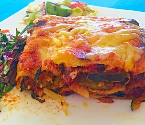Low FODMAP Vegetarian Lasagna