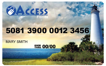 """Florida ACCESS EBT Card"""