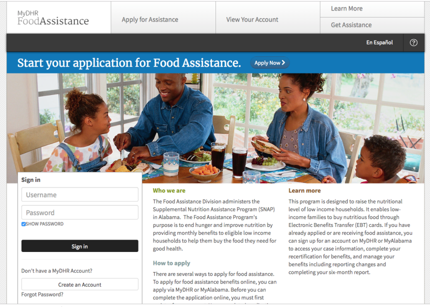 """""""How to Apply for Alabama Food Stamps"""""""