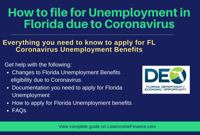 """How to file for Unemployment in Florida due to Coronavirus"""