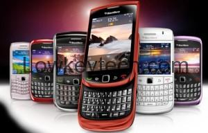 Blackberry-smartphones