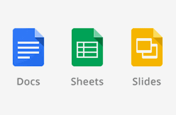 Google Docs, Google Sheets, Google Slide