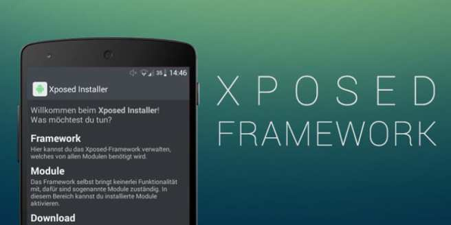 Root your device & install Xposed Framework