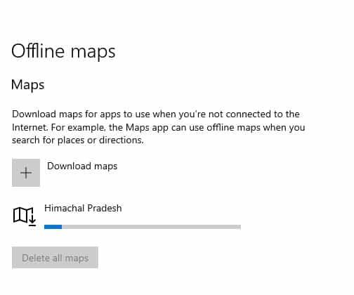 wait until the map downloads