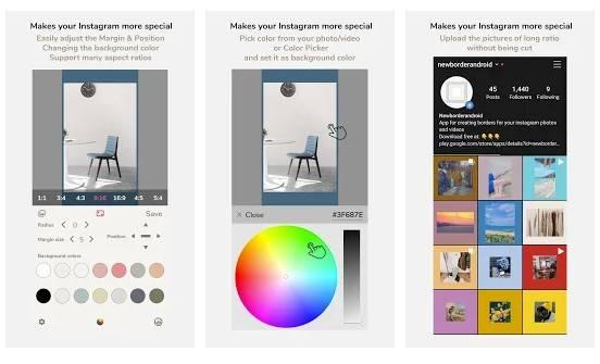 NewBorder for Instagram