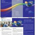 Solid Vision, drieluik brochure