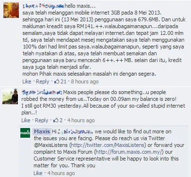 Hotlink customers up in arms as internet quota and credit