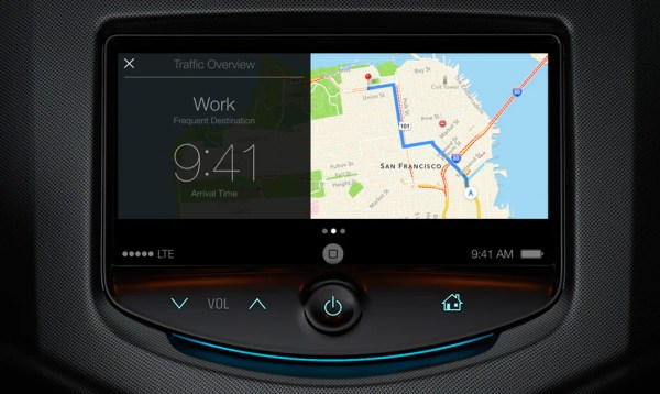 iOS 7 iOS in the car