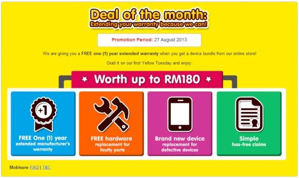 DiGi Yellow Tuesday Month 1