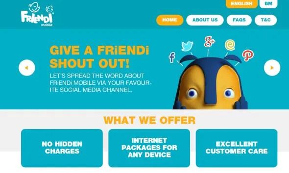 FRiENDi mobile Malaysia