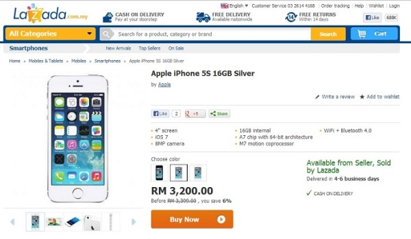 lazada-iphone-5s-silver