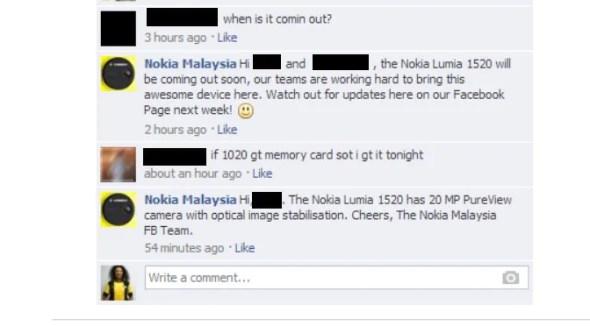 Nokia Malaysia @ Facebook