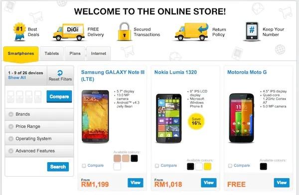 DiGi Store Online