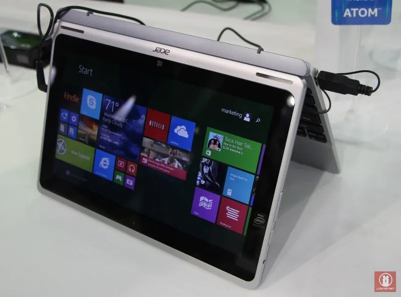 Hands-On With Acer Switch 10: The Latest Intel Bay Trail