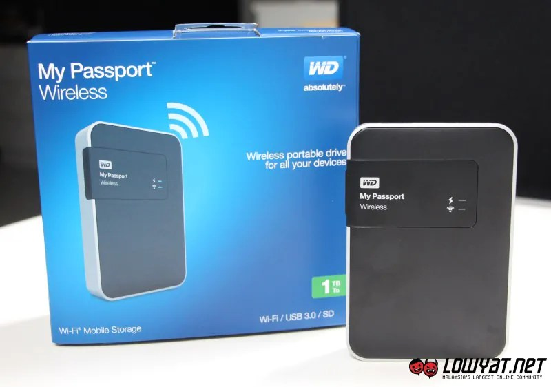 Western Digital Launches My Passport Wireless Wi Fi Mobile