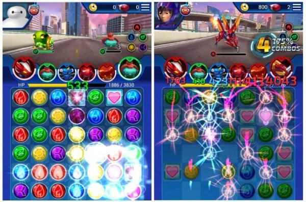 Big Hero 6 Bot Fight Game Play