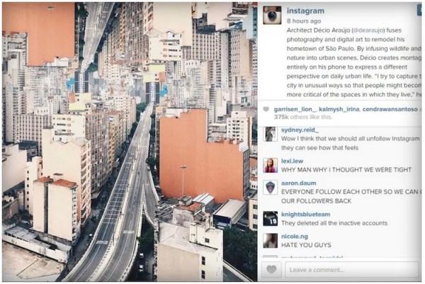 Instagram Rapture