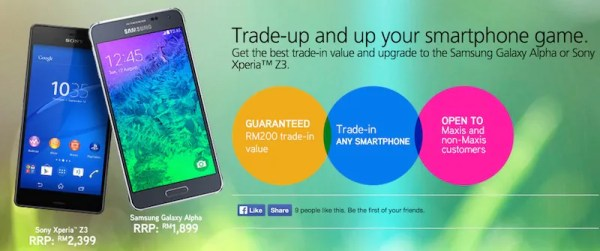 Maxis Trade In Offer Samsung Galaxy Alpha