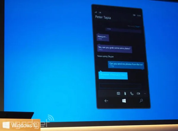 Windows 10 Unified Messaging