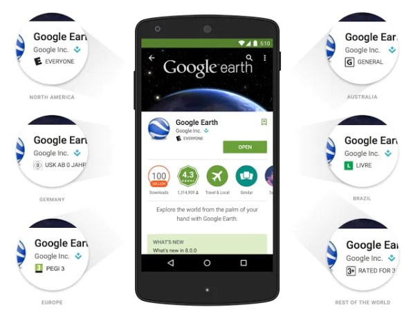 Google Play Store New Rating System
