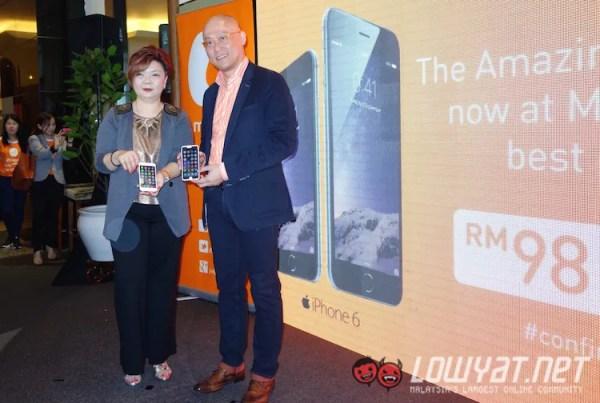 U Mobile iPhone Launch