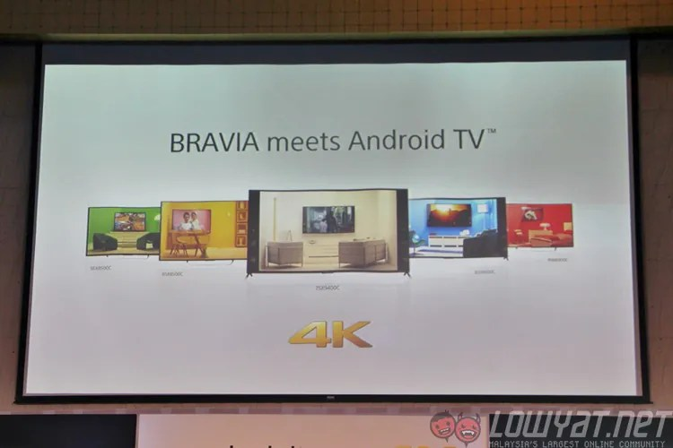 Sony Unveils 2015 Bravia Smart TVs, Including The First