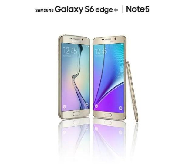 Samsung Galaxy Note 5 + S6 edge+ Launch