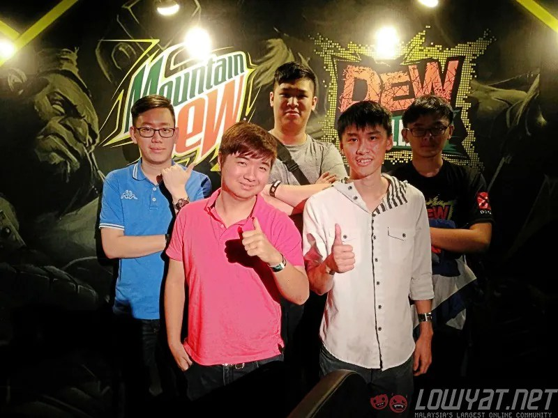 Mountain Dew Dota 2 Challenge Champions Only Formed Two