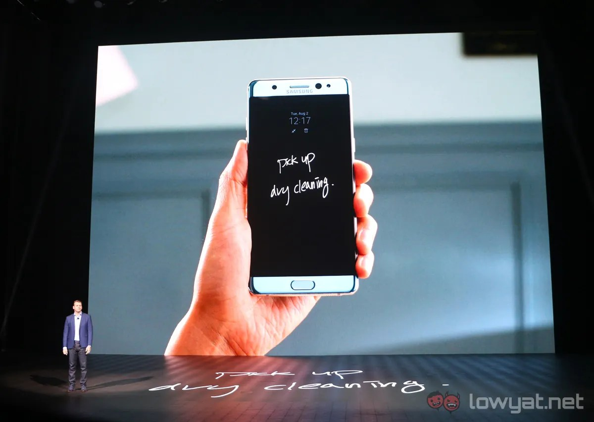 Samsung Officially Unleashes Galaxy Note 7, And It's