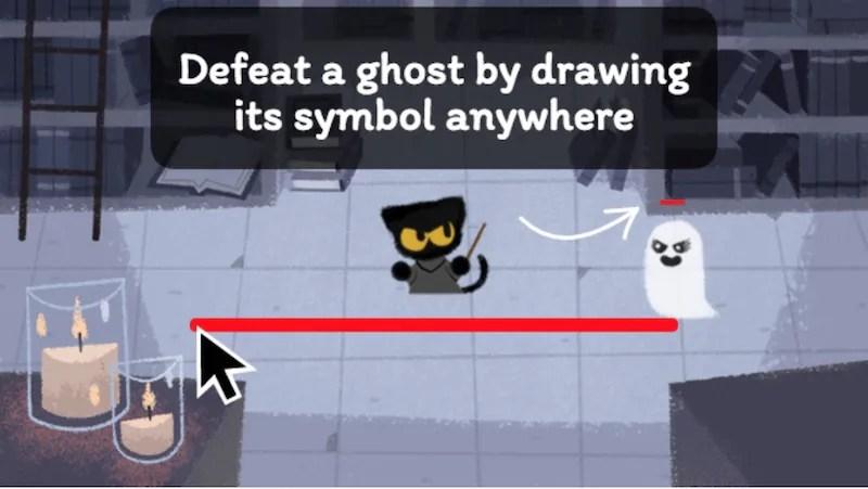 google celebrates halloween with doodle game lowyat net