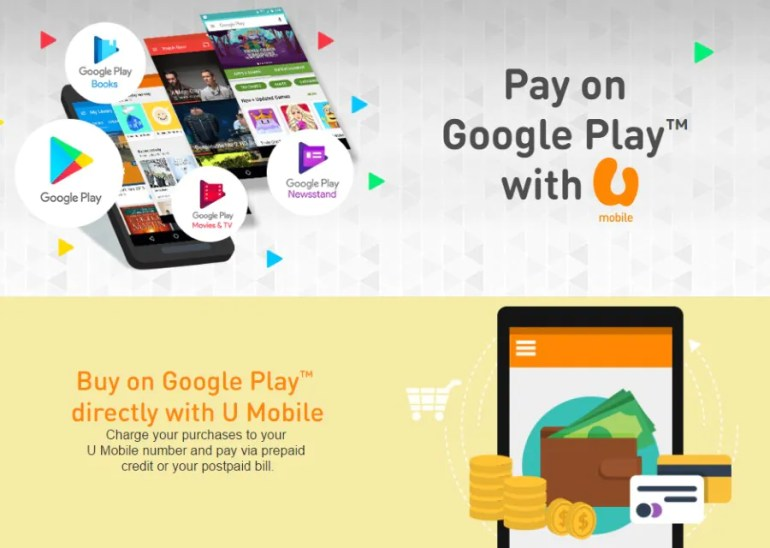 Google Play Carrier Billing Now Available For U Mobile