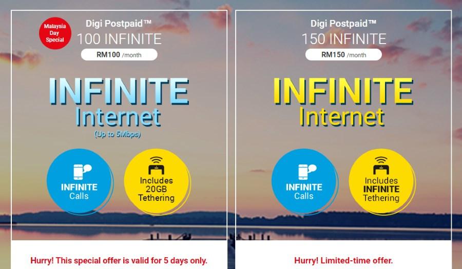 Digi Postpaid 100 Infinite