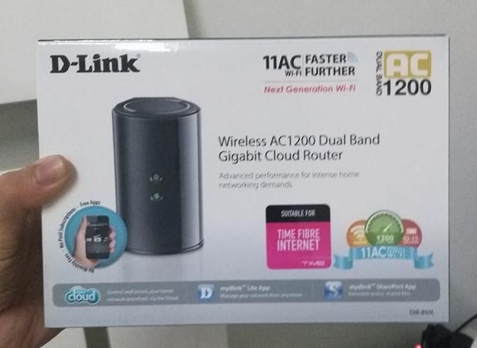 D-Link DIR850-L for Time Internet