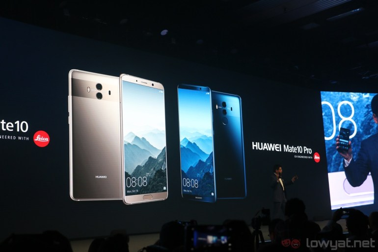 Huawei Unleashes the Mate 10 Pro: 18:9 FullView HDR Display