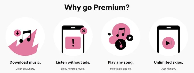 Spotify Promotion Offers One Year Premium Subscription for