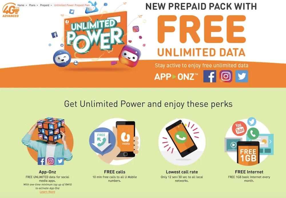 Unlimited Power Prepaid