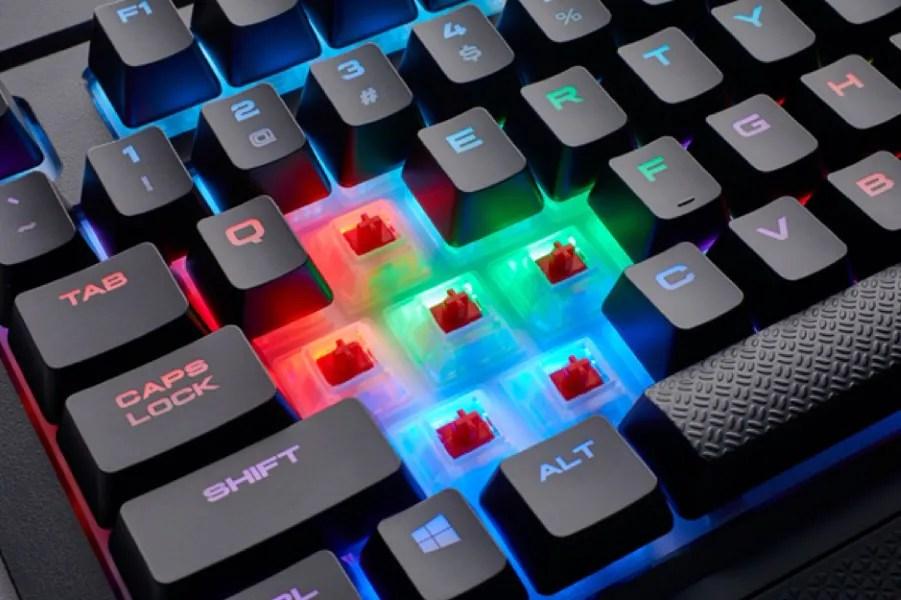 Corsair K68 RGB Spill Resistant Gaming Keyboard Now In