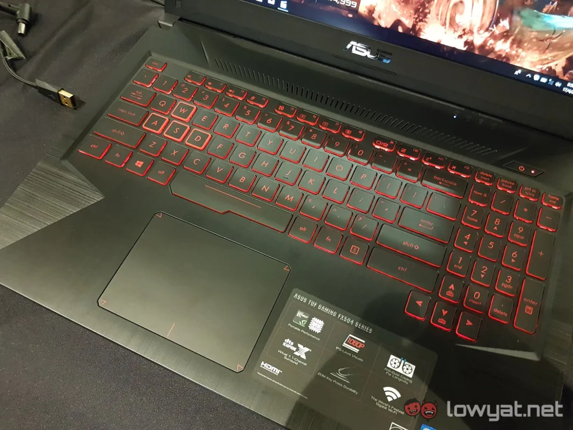 ASUS Launches Entry-Level TUF Gaming FX504 Laptop In