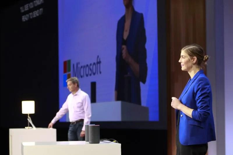 Microsoft Build 2018: Cortana Alexa Demo
