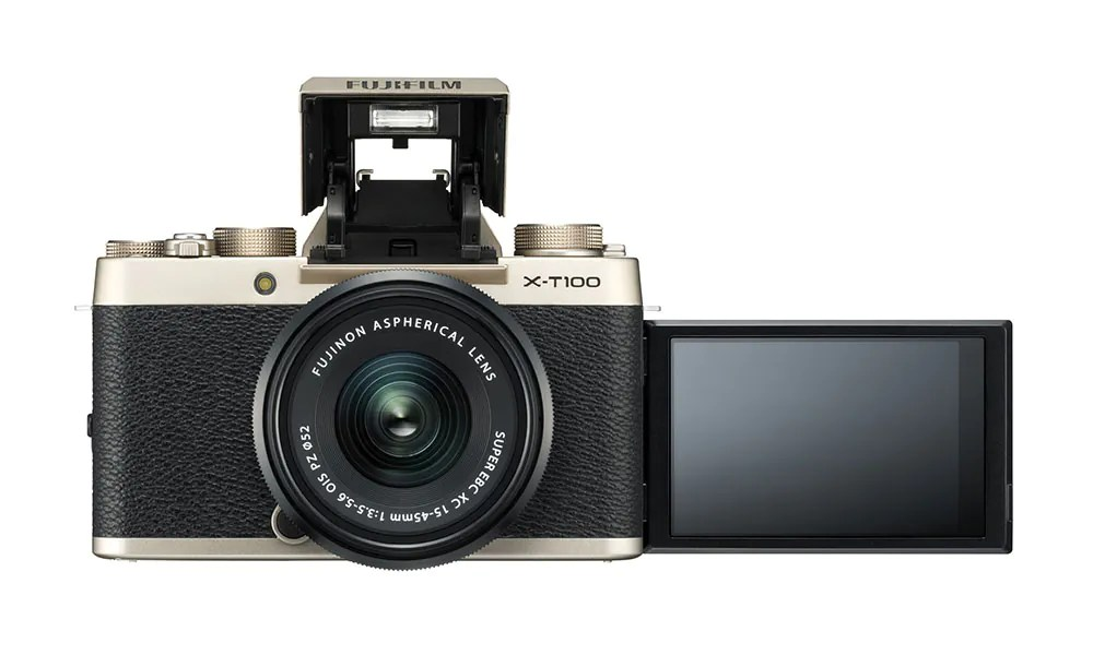 Fujifilm XT-100 Combines Large EVF And Tilting Screen At A