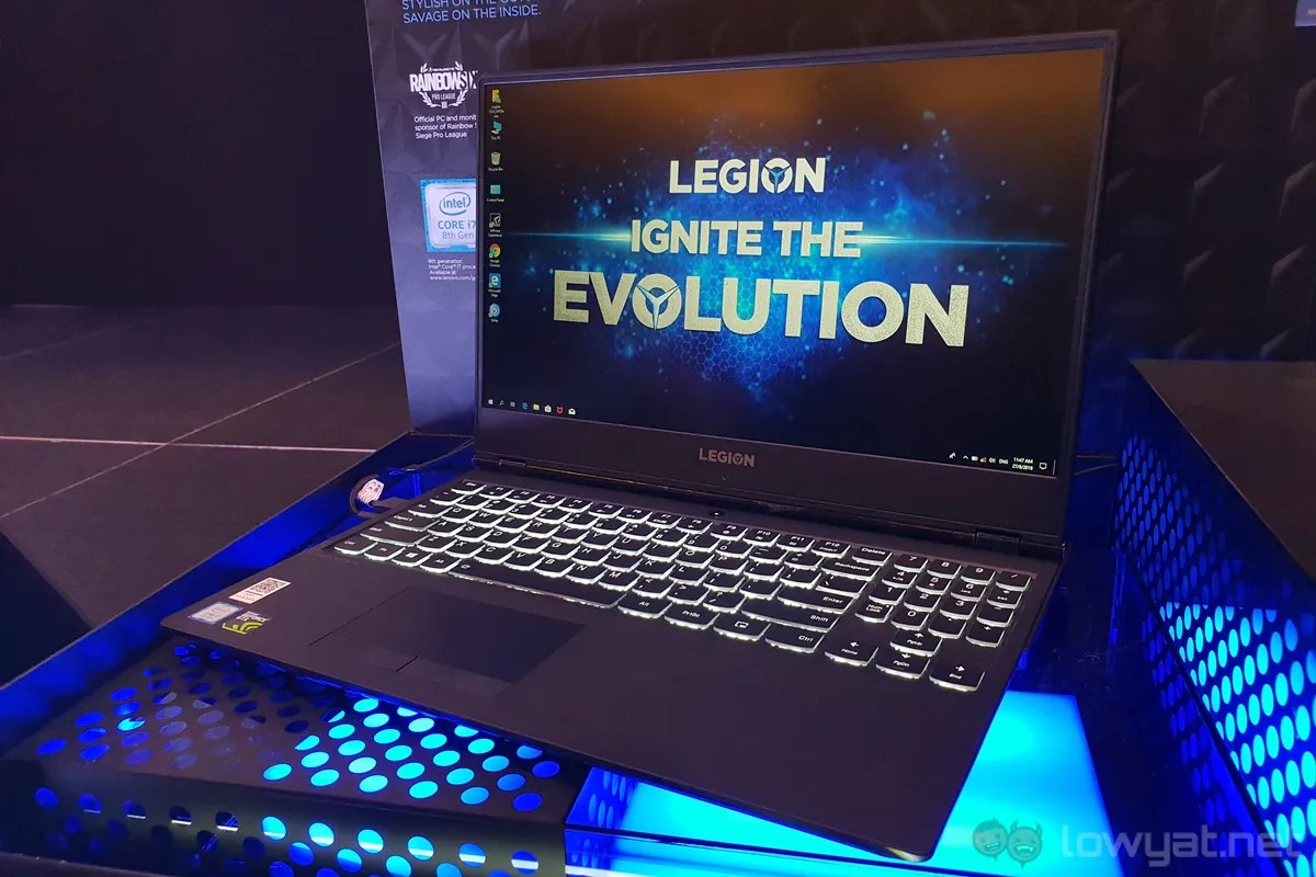 Lenovo Launches Legion Y530 Gaming Laptop with GTX 1050 in