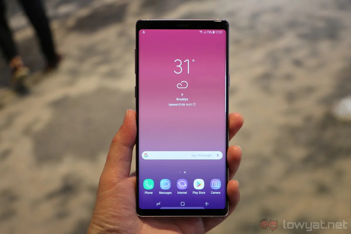 Samsung Galaxy Note 9 Hands On: Playing It Safe | Lowyat NET