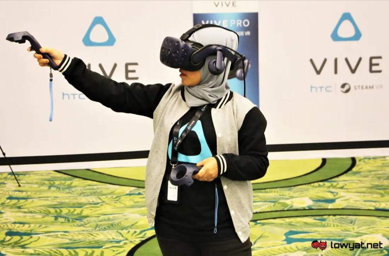 HTC Vive and Vive Pro Virtual Reality Headsets Now