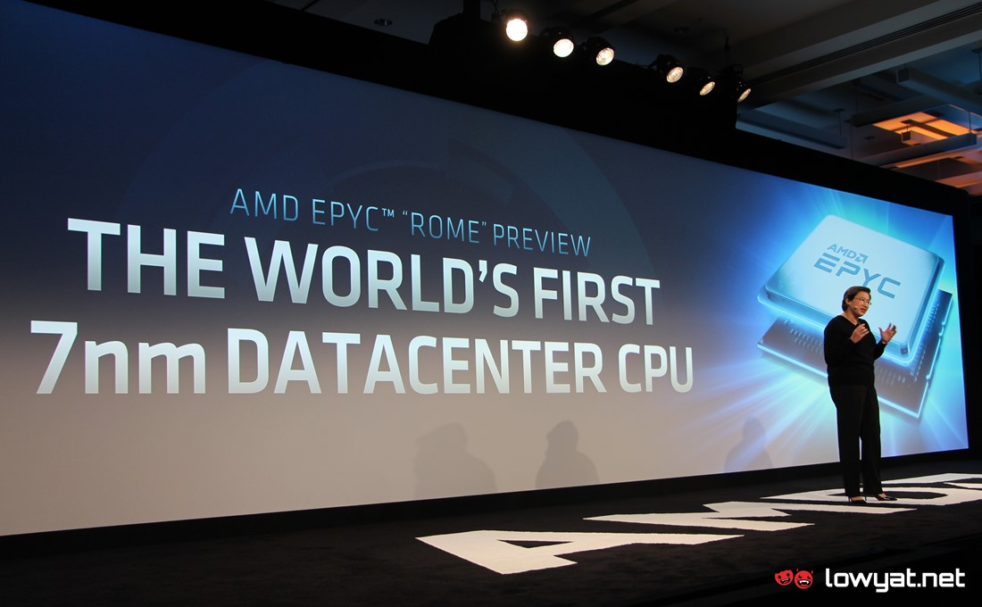 AMD Epyc Rome To Feature 7nm and 14nm Chips On A Single