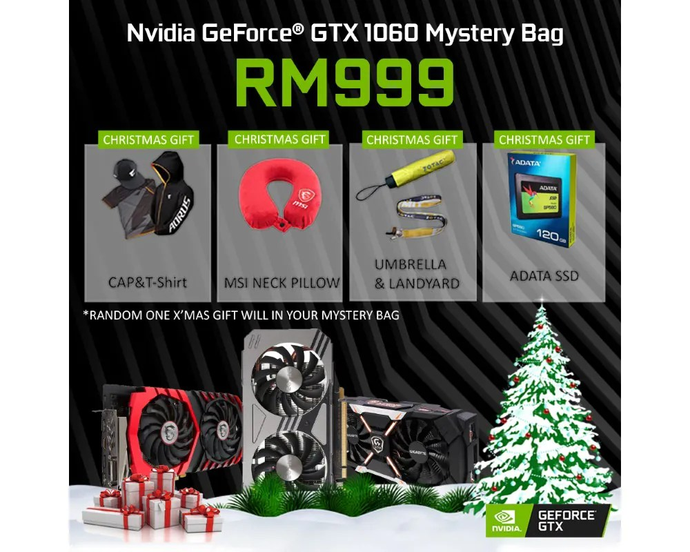 NVIDIA GeForce Malaysia Store Offers GeForce GTX 1060 6GB